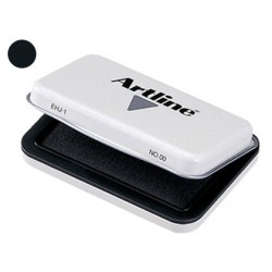 TAMPON ARTLINE N║ 1 NEGRO -67X106 MM