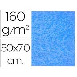 FIELTRO LIDERPAPEL 50X70CM AZUL CLARO 160G/M2