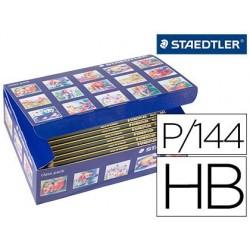 LAPICES DE GRAFITO STAEDTLER NORIS N 2 HB CLASS PACK DE 144 UNIDADES