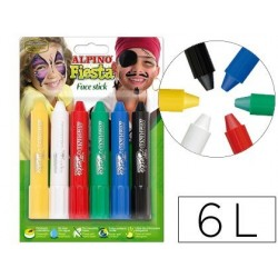 BARRA MAQUILLAJE FACE STICK 6 COLORES SURTIDOS