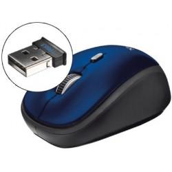 RATON TRUST OPTICO 1600 DPI INALAMBRICO NANO RECEPTOR USB 2,4 GHZ AZUL