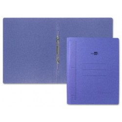 CARPETA GUSANILLO LIDERPAPEL FOLIO CARTON AZUL