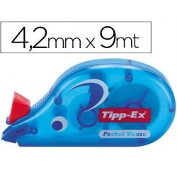 CORRECTOR TIPP-EX CINTA -POCKET MOUSE 4,2 MM X 10 M.