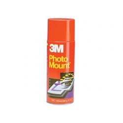 PEGAMENTO SCOTCH SPRAY PHOTO MOUNT 400 ML -ADHESIVO PERMANENTE