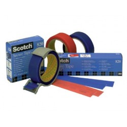 CINTA ADHESIVA SCOTCH POSTAL -AZUL -ROLLO DE 35 MT X 33 MM 820