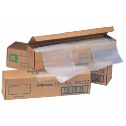 BOLSA DE RESIDUOS FELLOWES PARA DESTRUCTORA DE DOCUMENTOSCAJA CON 50 UND. PARA PS220 220C/320/320CC