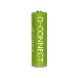 PILA Q-CONNECT ALCALINA AA -BLISTER CON 4 PILAS
