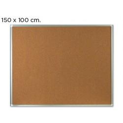 PIZARRA CORCHO Q-CONNECT MARCO DE ALUMINIO 150X100 CM EXTRA CORCHO 5 MM