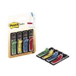BANDERITAS SEPARADORAS FLECHASDISPENSADOR 4 COLORES CLASICOSPOST-IT INDEX 684ARR3 96 BANDERITAS
