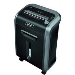 DESTRUCTORA DE DOCUMENTOS FELLOWES PS-79Ci CAPACIDAD DE CORTE 16 H DESTRUYE TARJETAS DE CREDITO GRAPAS CLIPS Y CD