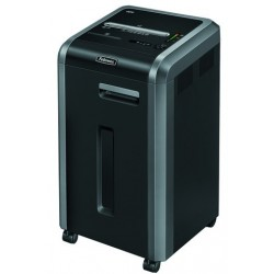 DESTRUCTORA DE DOCUMENTOS FELLOWES 225Ci CAPACIDAD DE CORTE 24 H DESTRUYE GRAPAS CLIPS CD Y TARJETAS 60 LITROS