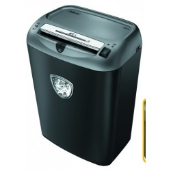 DESTRUCTORA DE DOCUMENTOS FELLOWES PS-70S CAPACIDAD DE CORTE 14 H DESTRUYE GRAPAS CLIPS TARJETAS Y CD 27 LITROS