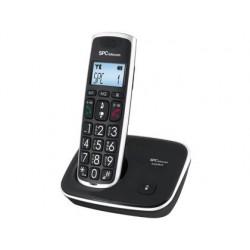 TELEFONO INALAMBRICO SPC TELECOM 7608N TECLAS DIGITOS Y PANTALLA EXTRA GRANDES COMPATIBLE AUDIFONOS