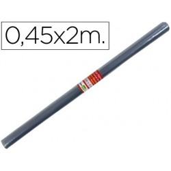 ROLLO PLASTICO FORRALIBROS 0,45X2 MT LIDERPAPEL